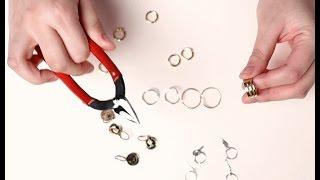 getlinkyoutube.com-헤어 피어싱 만들기 도전! : how hair acc piercing made