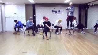 getlinkyoutube.com-방탄소년단 '하루만(Just one day)' dance practice