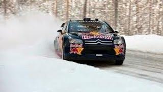 getlinkyoutube.com-Compilation d'accident en Rallye sur neige n°1 / Crash rally compilation snow #1