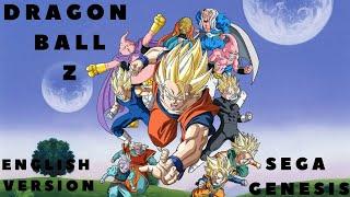 getlinkyoutube.com-Dragon Ball Z  -- Sega Megadrive Longplay [English Ver.]