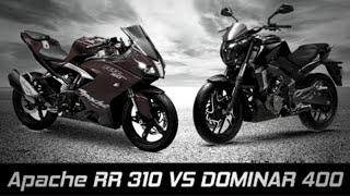 getlinkyoutube.com-TVS Akula 310 vs Bajaj Dominar 400 [Looks-Battle] ✔