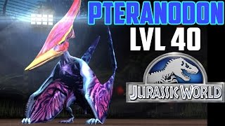 getlinkyoutube.com-Jurassic World The Game -PTERANODON - level 40