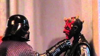 getlinkyoutube.com-Star Wars:  Darth Vader vs. Darth Maul (Stop-motion)