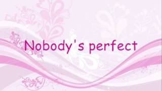 getlinkyoutube.com-Hannah Montana - Nobody's Perfect - LYRICS