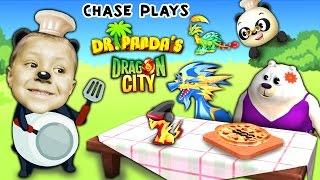 getlinkyoutube.com-Chase plays Dr. Panda's Restaurant 2 AGAIN + Dragon City (FGTEEV Random Gameplay)