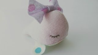 getlinkyoutube.com-How To Make A Kawaii Whale Plushie Tutorial