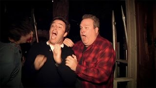Andy Goes to a Haunted House with Eric Stonestreet width=