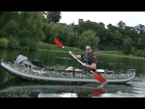 2 CANOES / TARP WILD CAMP - With
