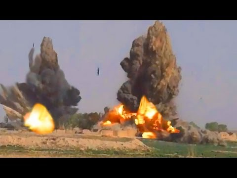6 JDAM BOMBS EXPLODE IN AFGHANISTAN