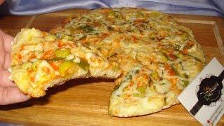 getlinkyoutube.com-شهيوات ريحانة كمال أسهل و ألذ ، أروع بيتزا سائلة في المقلاة