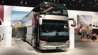 getlinkyoutube.com-Setra S 431 DT 2016 In detail review walkaround Interior Exterior
