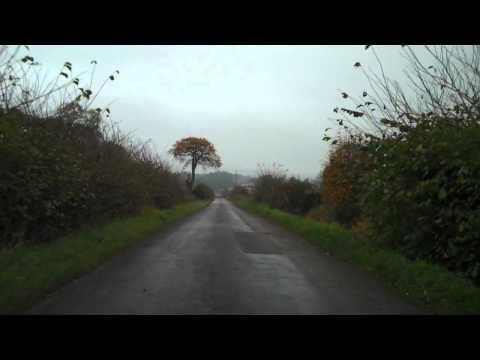 Autumn Misty Afternoon Drive Scotland