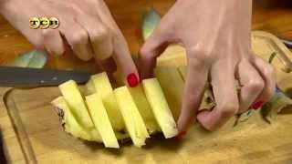 getlinkyoutube.com-Как красиво порезать ананас