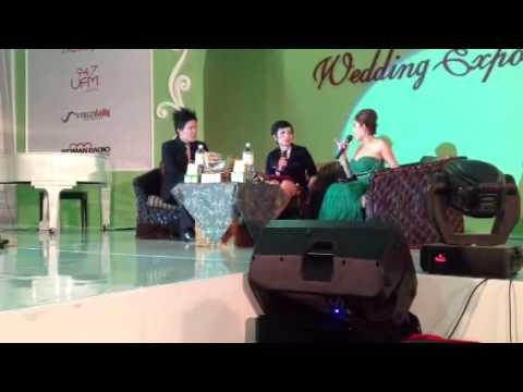 OLIVE LEE MC TalkShow WEDDING EXPO 2013 with Rumah Totok