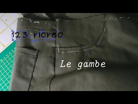 Jeans parte VIII° - Le gambe dei pantaloni
