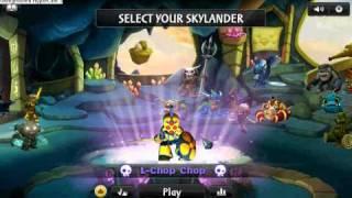 getlinkyoutube.com-Legendary Skylander Codes On Skylander BETA