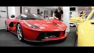 ABC Detailing - Ferrari LaFerrari & Lamborghini Aventador Detailing