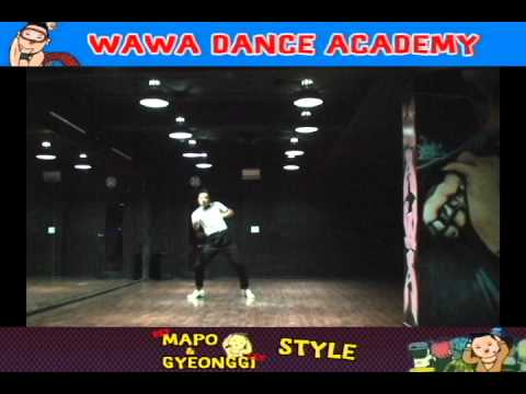 WAWA DANCE ACADEMY PSY GANGNAM STYLE DANCE STEP
