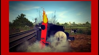 getlinkyoutube.com-The Adventure Begins - RUNAWAY JAMES CRASH REMAKE ||Thomas and Friends