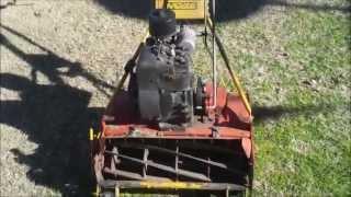 getlinkyoutube.com-Harbor Freight 212cc Predator Engine on my Lawn Mower (Mclane)