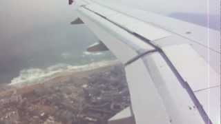 getlinkyoutube.com-Landing at Visakhapatnam International Airport - AirIndia AI 617, AirBus 320
