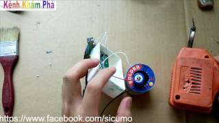 hướng dẫn chế pin sạc sự phòng từ đèn pin hỏng