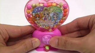 getlinkyoutube.com-Princess Precure Heart Shaped Candy Machine ~ Go!プリンセスプリキュア ハートのラムネマシン