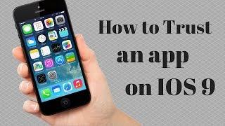 getlinkyoutube.com-How to trust an app on IOS 9