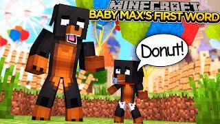 getlinkyoutube.com-BABY MAX'S FIRST WORD!!! - Minecraft - Little Donny Adventures.