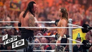 Emotional WrestleMania moments - WWE Top 10 width=