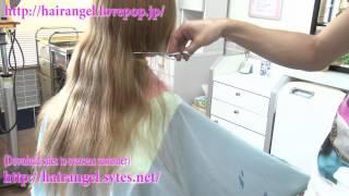 getlinkyoutube.com-『Hair Angel Vol 64』(hair cut) SAMPLE