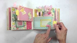 getlinkyoutube.com-Pocket Page Mini Album Tutorial Series Final Review