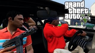 getlinkyoutube.com-Bloods Vs Grove Street 2 [HD] RockStar Editor