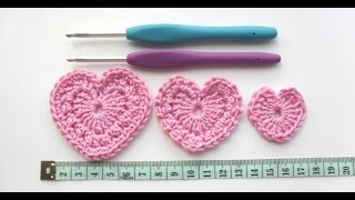 getlinkyoutube.com-How to Crochet a - Trio of Perfect Little Hearts