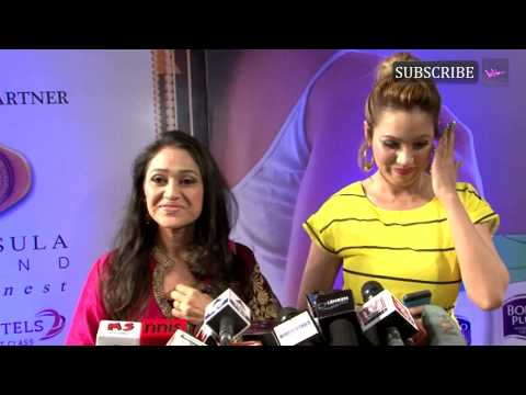 Red carpet | Zee Gold Awards 2014 | Diksha Vakani and Munmun Dutta