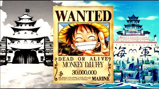 getlinkyoutube.com-One Piece Wanted - The Evolution Of Mugiwaras'/Strawhats' Bounties From 1997 to 2017 HD