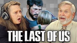 getlinkyoutube.com-ELDERS PLAY THE LAST OF US (Elders React: Gaming)