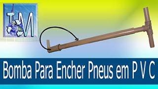 getlinkyoutube.com-Bomba Para Encher Pneus em P V C