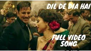 GOLD SONG | DIL DE DIA HAI JAAN TUJHE DENGE | AKSHAY KUMAR | MOUNI ROY |KUNAL|AMIT|VINEET| UNSEEN