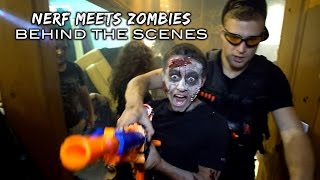 getlinkyoutube.com-Behind the Scenes | Nerf meets COD ZOMBIES! (Nerf the Dead)