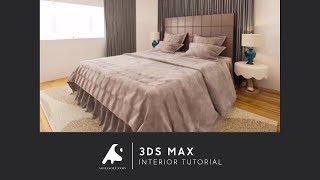getlinkyoutube.com-3D Max Interior Design Tutorial 2016 Vray+Photoshop Modeling
