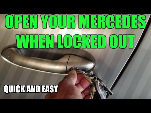 Где находится в Mercedes SLC аккумулятор