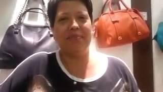 getlinkyoutube.com-Rosana ( mãe da Raissa Chaddad) manda beijos para mim.