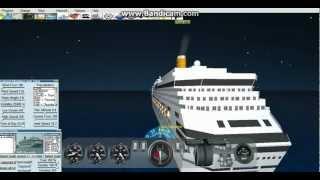 getlinkyoutube.com-Virtual Sailor: Costa Concordia Loses Power In Atlantic Ocean