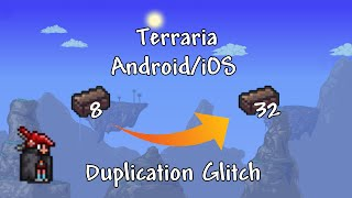 Terraria Android/iOS - How to Duplicate Any item