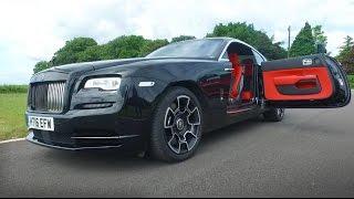 getlinkyoutube.com-NEW Rolls Royce Wraith Black Badge