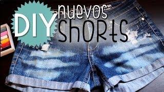 getlinkyoutube.com-DIY Diseña tus propios short! ♥ Cómo cortar y personalizar tus short ♥