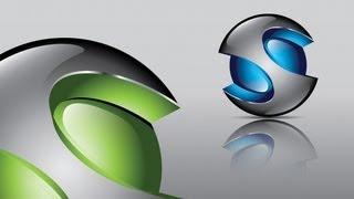 How to create FULL 3D Logo Design in Adobe Illustrator CS5 HD1080p (S1)