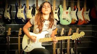 getlinkyoutube.com-Laura Cox - Testing the new 2015 Fender Jimi Hendrix Stratocaster