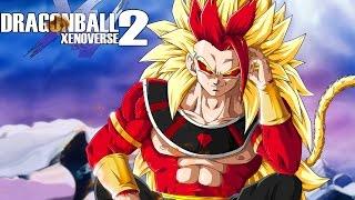 getlinkyoutube.com-SAIYAN GOD OF DESTRUCTION RYCON! Super Saiyan 4 Rycon Open Battle| Dragon Ball Xenoverse 2 PC Mods